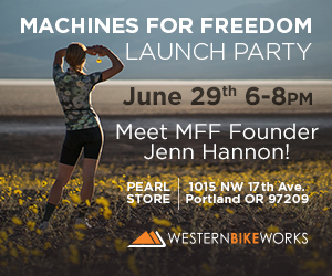 Western Bikeworks Machines for Freedom Launch Party