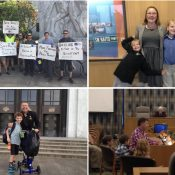 Guest post: Families show up in Salem to demand more funding for Safe Routes to School
