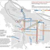 "Buses at forefront as PBOT unveils ""Enhanced Transit Corridors"" plan tonight"