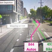 City weighs options for 'vexing' weave section of North Vancouver Ave