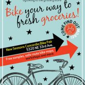 New Seasons Concordia will host  'Safe Routes to Groceries' event Saturday