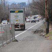 Greeley Avenue protected bikeway delayed until spring 2018