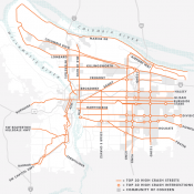 City set to adopt list of 105 'Vision Zero' projects