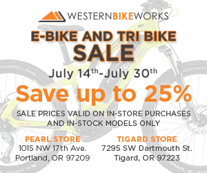E-bike sale at Western Bikeworks