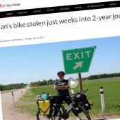 Event planned for South Korean bike tourer victimized by theft in Portland