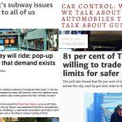 The Monday Roundup: Carfree tourism, hi-viz tips, futility of speeding, and more
