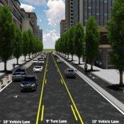 On street or level with sidewalk? Weigh in on future of NE Multnomah bikeway