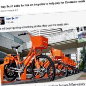 It has begun: Oregon-inspired tax on bicycles spreads to Colorado