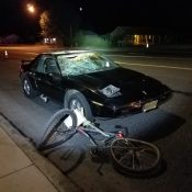Bicycle rider dies in collision with auto user in Oakridge Sunday night