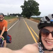 Biking to the eclipse was a totality awesome experience