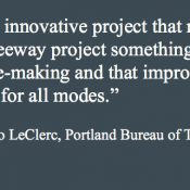 Backers say I-5 Rose Quarter widening could be model for future freeway projects