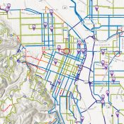 Portland's official city bike map is now digital and interactive