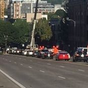 PBOT fines contractors for blocking streets; but what about bikeway blockage?
