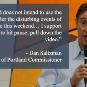 Portland Commissioner: We won't use Oregon Rep's traffic safety PSA; supports efforts to end campaign