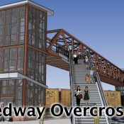 New carfree 'Reedway' bridge over railyard and McLoughlin makes city priority list