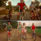 """Gal by Bike: Modern kids and the lost freedom of """"Now and Then"""""""
