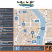 Today is Park(ing) Day, a celebratory reminder that streets are public space