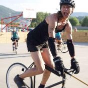 An interview with bike polo player and aspiring framebuilder Jackie Mautner