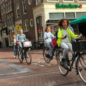 Dreamy streets, beautiful people on bicycles, and other scenes from my Amsterdam vacation