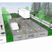 To boost business, Beaverton will build separated bikeways on Western Ave