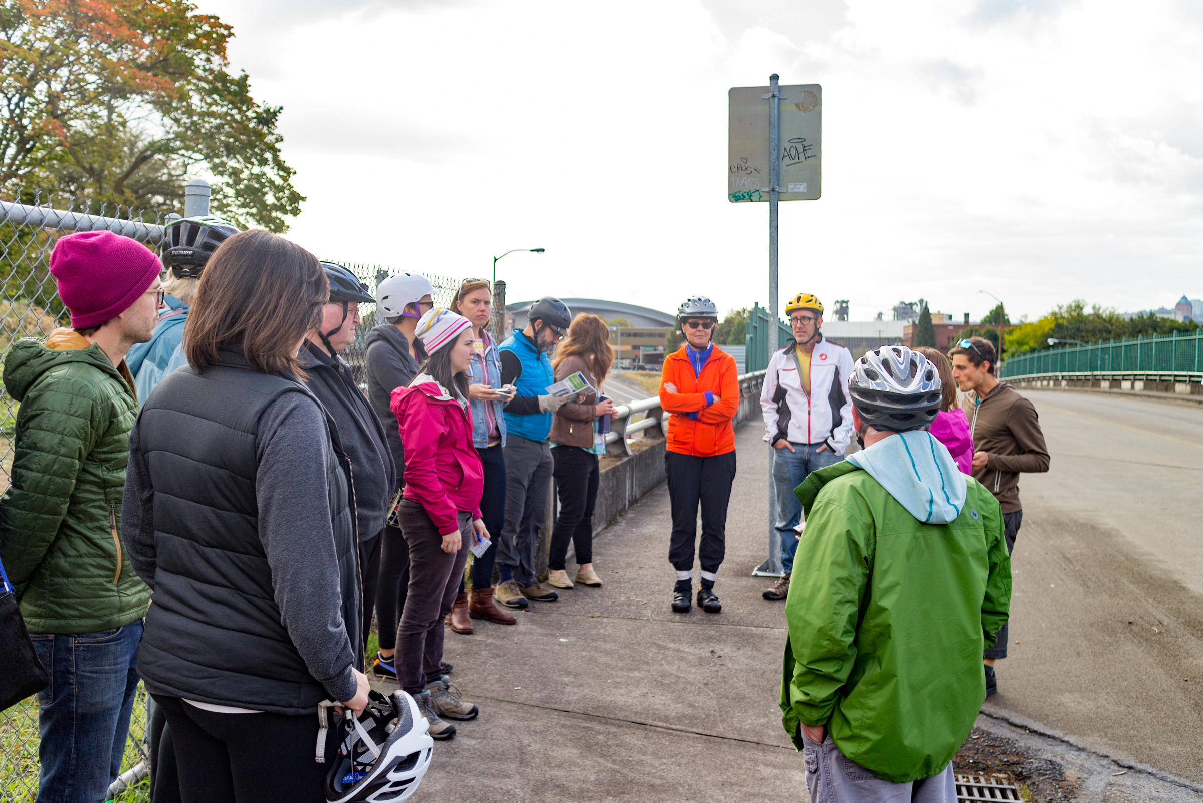On the ground with ODOT: Recap of I-5 Rose Quarter project bike ride -  BikePortland org