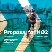 Bicycling stars in Portland's Amazon HQ2 pitch