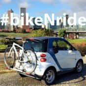 No more bike racks! Car2go phasing out Smart cars in favor of larger vehicle