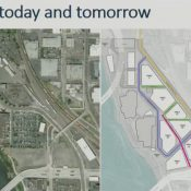 OMSI wants to realign Water Ave and build a two-way cycle track