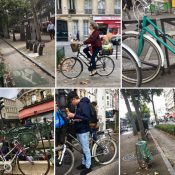 Postcards from Paris: Mixtes, street scenes, and a budding bike network