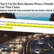 ODOT and supporters struggle to justify I-5 Rose Quarter project