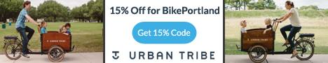 Urban Tribe - Ride with your kids in front.