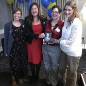 Inspiring speeches from Oregon Walks award winners