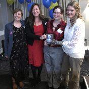 Inspiring speeches from Oregon Walks award winners