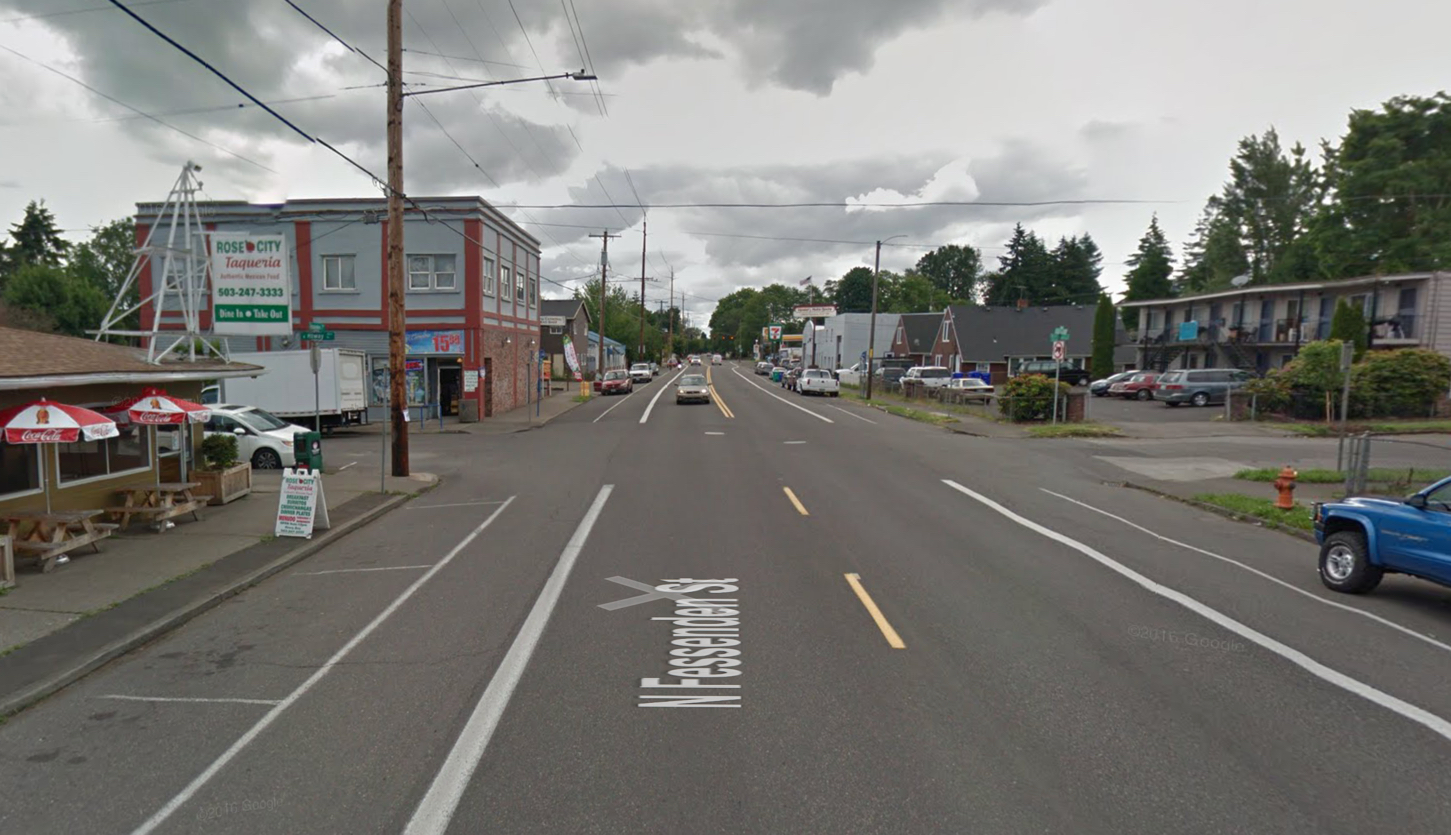 On eve of North Portland traffic safety town hall, a man was hit and