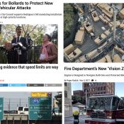 The Monday Roundup: NYC aftermath, vision zero fire truck, Uber's strange ad, and more