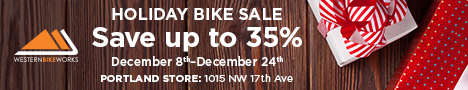Holiday Sale at Western Bikeworks