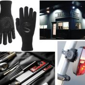 Industry Ticker: Chrome's knife roll, PDW's smart taillight, Breadwinner Cafe, and waterproof gloves from Showers Pass