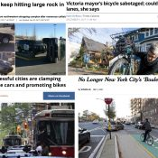 The Monday Roundup: Bike highways in London and Cleveland, blaming bad driving, a bike racing lifer, and more
