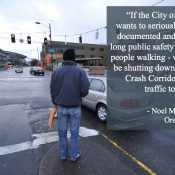 Oregon Walks ED to Mayor Wheeler: 'We need urgency to save lives on our streets'