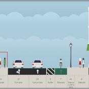 Here's how PBOT will fix the bike lane that disappeared on NW 14th Ave