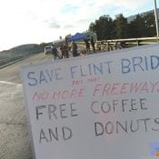 Community rallies against ODOT's plans to tear down Flint Ave bridge