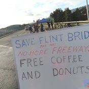 Community rallies against ODOT's plans to tear down Flint Ave bridge