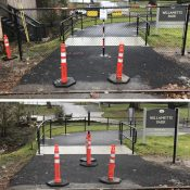 Making sense of the fence: Why Parks closed a path into Willamette Park