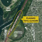 Oaks Bottom project will close Springwater path for four months this summer