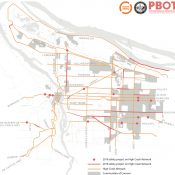 PBOT has 17 'High Crash Network' projects queued up for construction this year