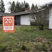 Grab a '20 is Plenty' yard sign and help PBOT change traffic culture