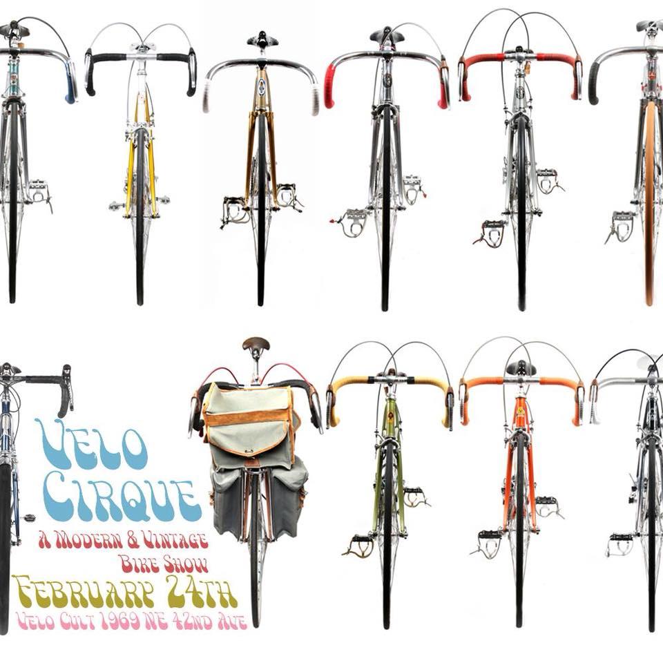 Do this Saturday night: Velo Cirque Bike Show, then Oregon