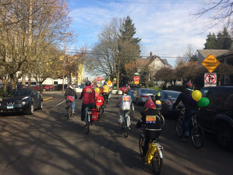 Worst Day of the Year Ride 2018 family route