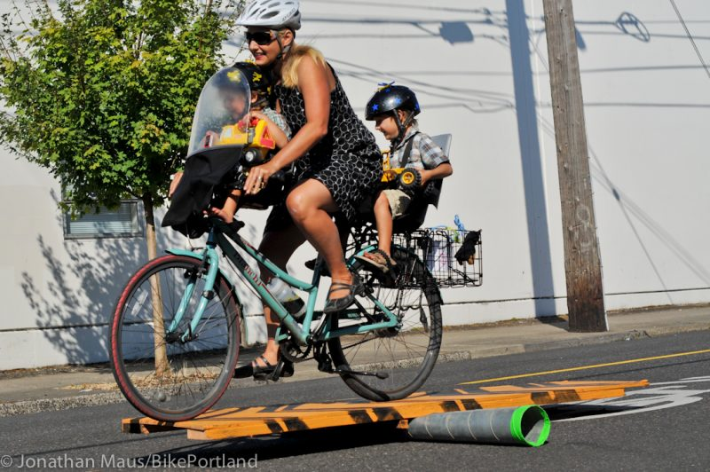 Here's how I've carried my kids by bike for the past 10 years -  BikePortland org