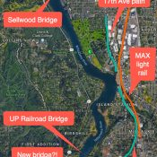 New bridge over Willamette River would connect Lake Oswego to Milwaukie